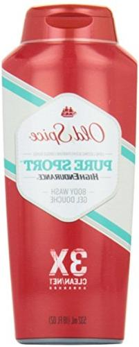 Old Spice High Endurance Body Wash, Pure Sport, 18 fl oz