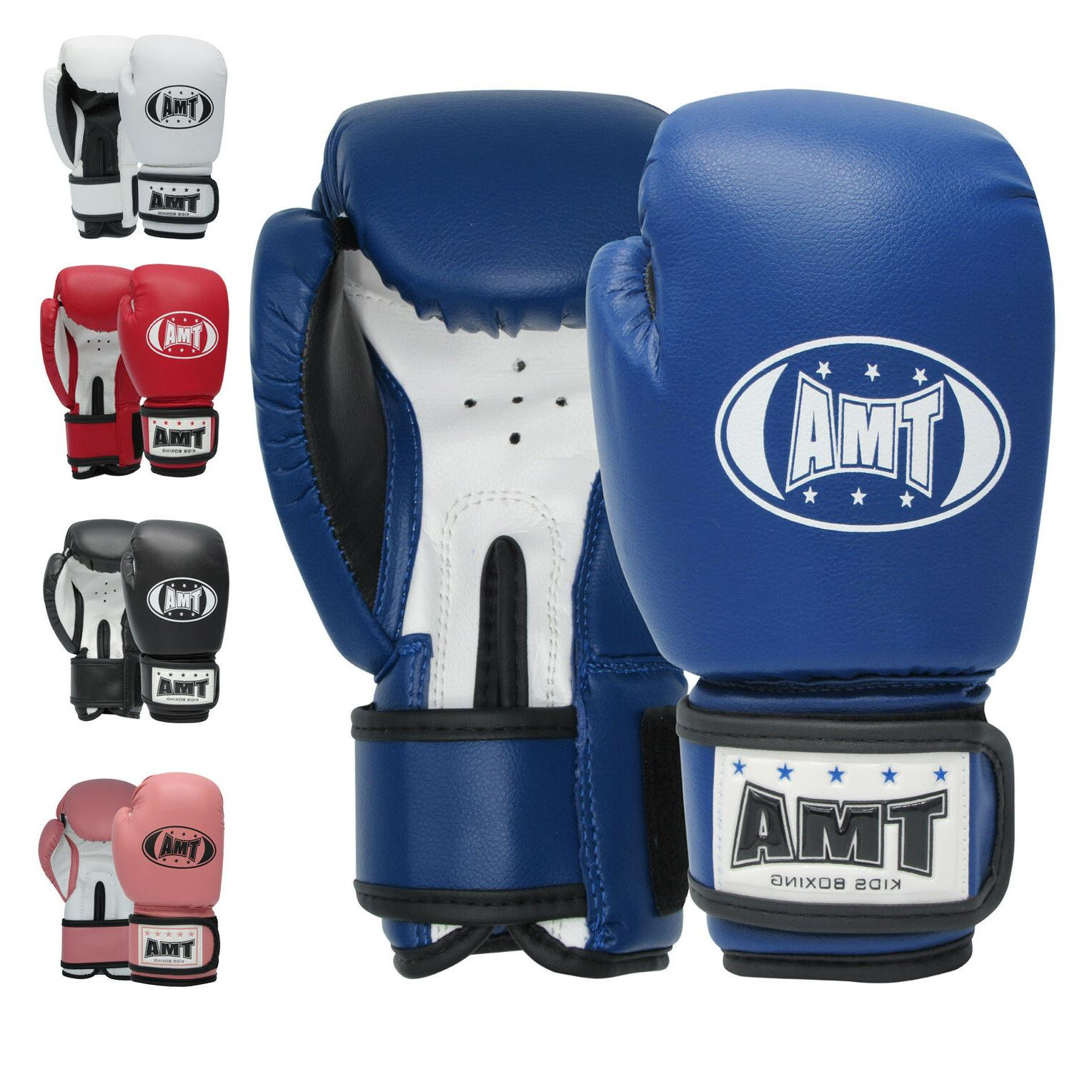 TMA Kids Boxing gloves best for kickboxing, Martial Arts, MM