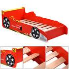 Kids Race Car Bed Toddler Bed Boys Child Furniture Bedroom R