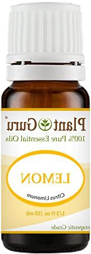 Lemon Essential Oil 10 ml 100% Pure Undiluted Therapeutic Gr