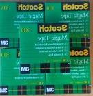 "Lot of 5 Scotch Invisible Magic Tape 3 M, 3/4 x 1299"", 19mmX"