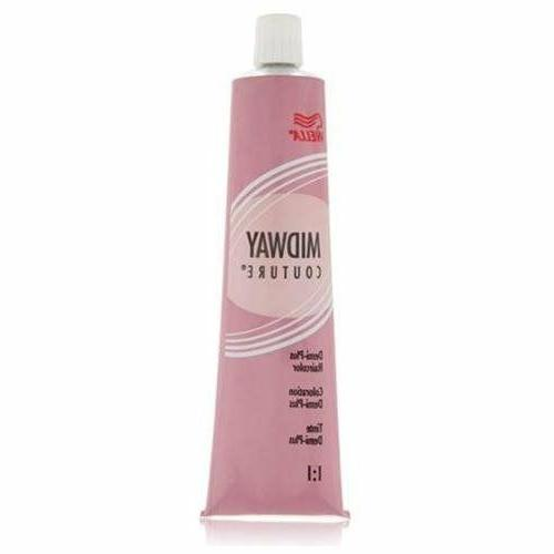 Wella Midway Couture Color, 4/5 N Brown, 2 Ounce