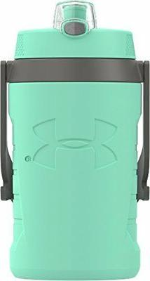 NEW Under Armour Sideline 64 Ounce Water Bottle, Crystal FRE