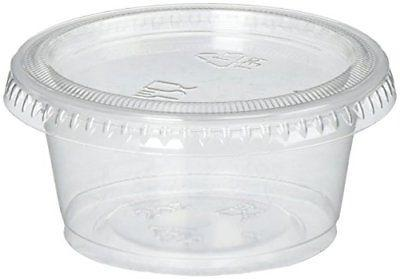 Reditainer Plastic Disposable Portion Cups Souffle Cup with