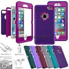 Protective Hybrid Shockproof Hard Case Cover For Apple iPhon