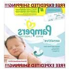 Pampers Sensitive Baby Wipes, 64, 192, 800, 1024, 2048 Count