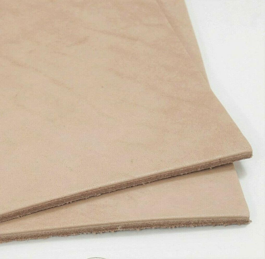 SLC Natural Veg Tan Cowhide Tooling Leather Pre-Cut Project