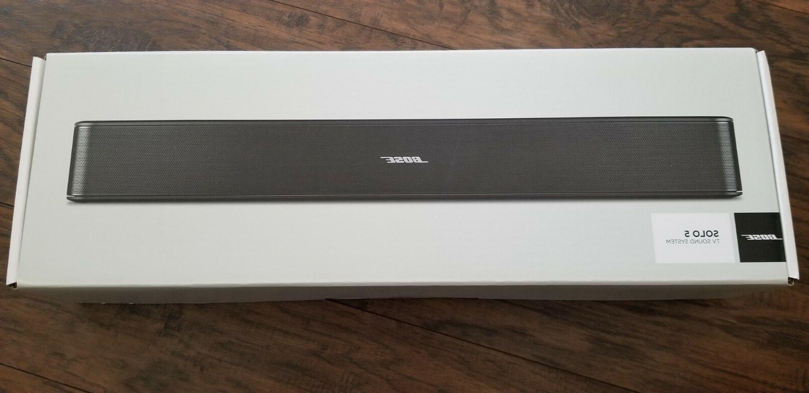 Bose Solo 5 TV sound system Bose Solo 5 Sound Bar 732522-111