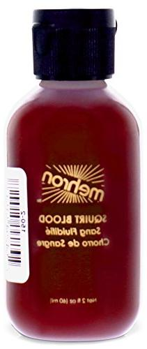 Mehron Squirt Blood, 2 oz