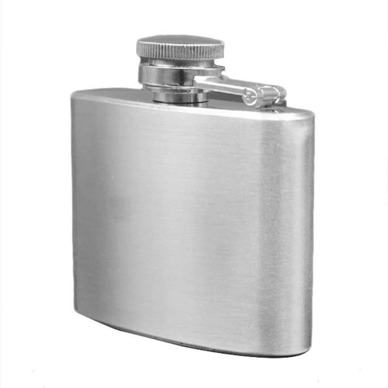 Stainless Steel <font><b>OZ</b></font> Portable Wine Pot Silver for Travel Outdoor