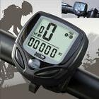 Bicycle Bike Waterproof LCD Odometer Speedometer Cycling Spe