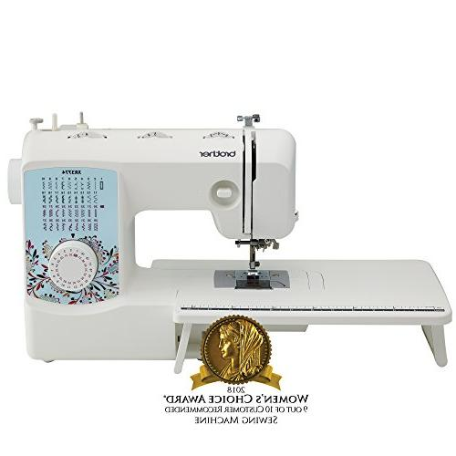 New Brother XR3774 Full-Featured Sewing and Quilting Machine with 37 Stitches
