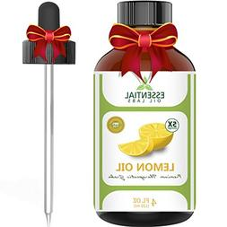Lemon Essential Oil - Highest Quality Therapeutic Grade Back