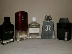 Givenchy Mens Cologne *2 ML* Lot Of 5.     Please read descr