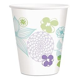 Modern Romance Paper Cold Cups  12 oz  White/Green/Brown  30