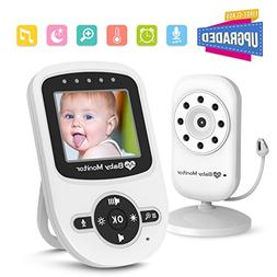 Video Baby Monitor with  Camera , Auto Infrared Night Vision