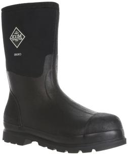 The Original MuckBoots Adult Chore Mid Boot,Black,Men's 10 M