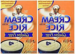 Cream of Rice Nabisco 14 OZ Pack 2 Cereals Breakfast Foods F
