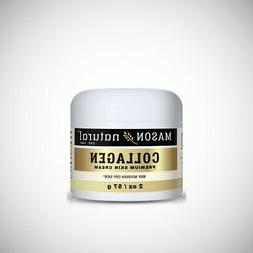 Mason Natural COLLAGEN BEAUTY CREAM -  2oz or 4oz Jars
