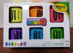 NEW Set Crayola Dough 2 Oz Tubs 6 Pack Modeling Play-doh cla