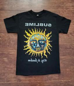 NEW SUBLIME 40 OZ. TO FREEDOM T SHIRT