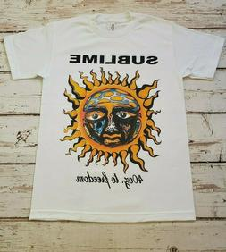 NEW - SUBLIME - SUN 40oz. TO FREEDOM - BAND T-SHIRT