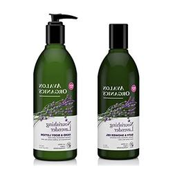Avalon Organics Nourishing Lavender Bath and Shower Gel and