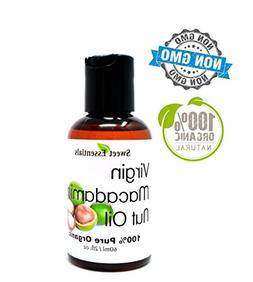 Organic Unrefined Macadamia Nut Oil | 2oz Imported From Ital