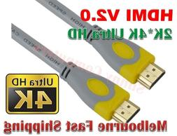 Premium HDMI Cable v2.0 UltraHD 4K*2K @60Hz 2160p HighSpeed