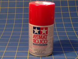 Tamiya PS-2 Red Polycarbonate Spray Can 3 oz Paint # 86002 M