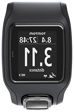 TomTom Runner Cardio GPS HR Watch - black/black, one size