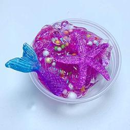 Show Tine ON Sea Star Crystal Slime,Fluffy Floam Slime,Jelly