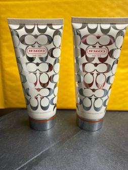 Coach Signature Body Lotions. 3.4 OZ - Each 2 pieces
