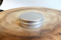 2oz  SLIP-Tin Containers Round with Lids tins  NEW Candles,