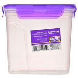 Sure Fresh Dry Food Storage Containers with Clip-Lock Lids,