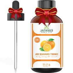 Sweet Orange Essential Oil – 100% Pure and Natural 4 oz. w