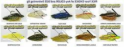All Terrain Tackle Jigs Swim Swimming Pick Any ATSJ Color 1/