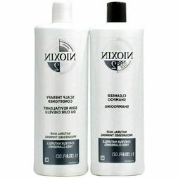 NIOXIN System 2 Cleanser and Scalp Therapy - 33.8oz
