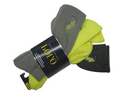 Polo Ralph Lauren Men's 3-Pack Technical Sport Socks 10-13,