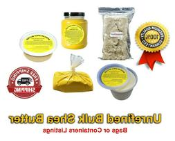 Raw African Shea Butter 100% Pure Organic Unrefined Natural
