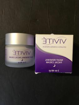 vivite night renewal facial cream 2 oz