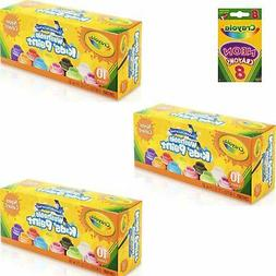 Crayola Washable Kids' Paint; Art Tools; Neon Colors; 30 c