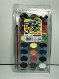 CRAYOLA 53-0524 WASHABLE WATERCOLOR 24-COLOR SET