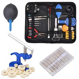 Hotouch Watch Repair Tool Kit Case Opener Hand Remover Sprin