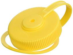 Wide Mouth Loop-Top Lids - Yellow