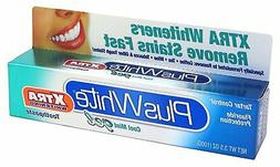 Plus White Xtra Whitening Cool Mint Gel Toothpaste, 3.5 Ounc