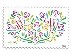 Yes, I Do - Full Sheet of 20 x Two-Ounce Forever Wedding Pos